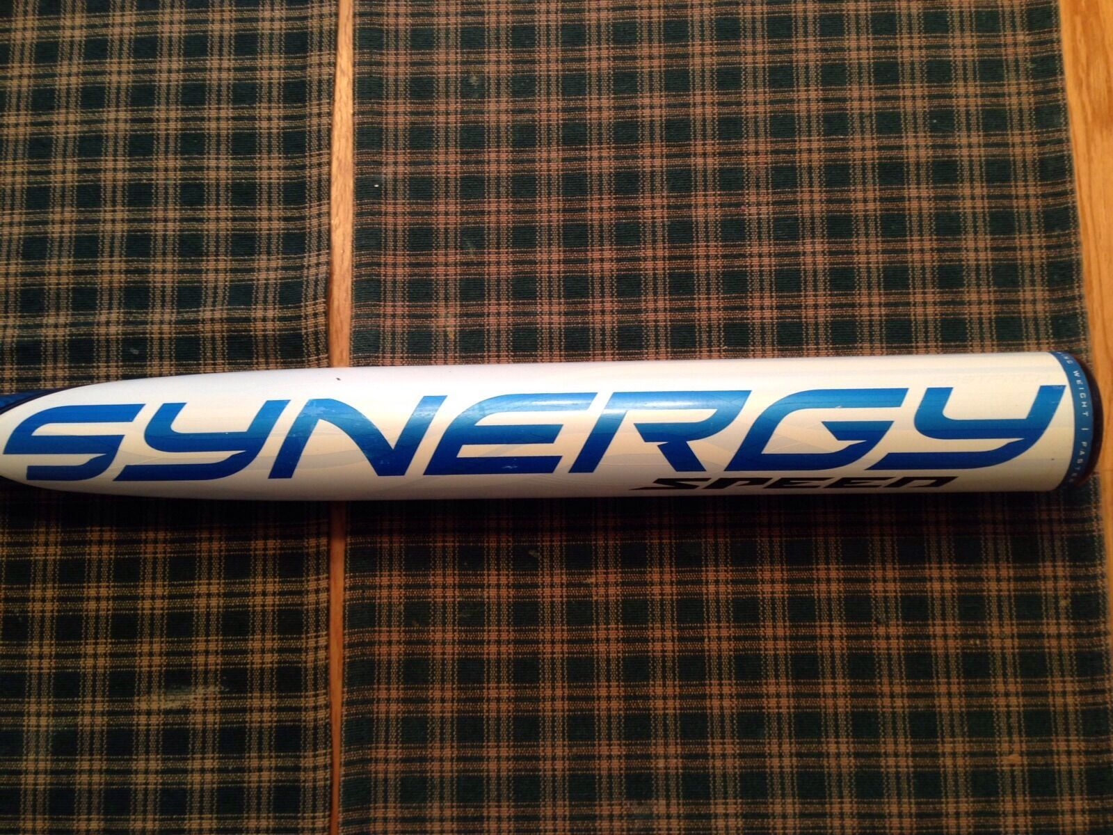Raro  Usado Easton Synergy velocidad srv4b Fastpitch Softball 34 24 (-10) Asa