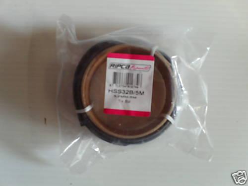 Thermorétractables gaine Tubing 3.2 mm noir 5 m Rouleau