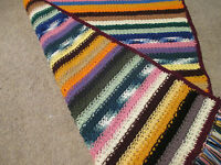 Handmade Youth love & Kisses Pattern Crochet Afghan/throw/blanket -