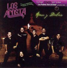 New: Los Acosta: Amor Y Delirio  Audio CD