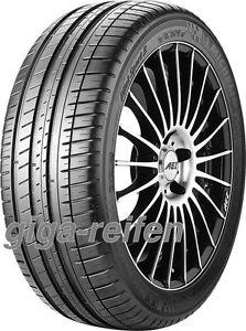 2x-Sommerreifen-Michelin-Pilot-Sport-3-225-40-ZR18-92W-XL-GRNX-mit-FSL