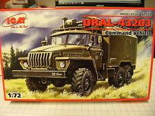 ICM 72612 1:72 URAL-43203 Comman Vehicle NEU OVP