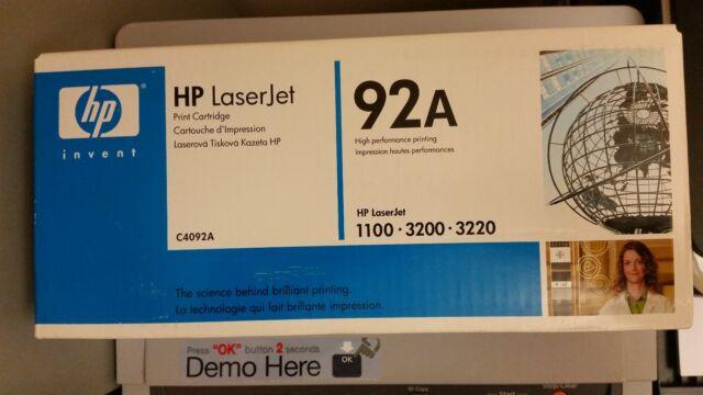 Toner ORIGINALE sigillato HP 92A (C4092A) nero