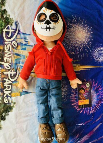 2020 Disney Parks Coco Miguel Plush Doll Día de Muertos Day of the Dead