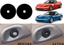 Replacement Interior Door Button Stickers For 2005-2013 Chevrolet Corvette New