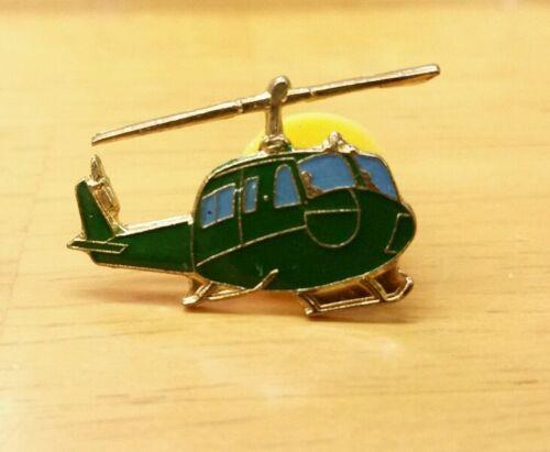 U.S Military Huey Helicopter Enamel Lapel Pin