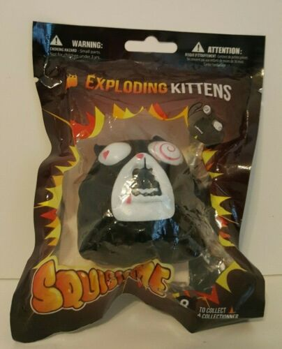 Exploding Kittens Squishme Feral Cat Squishy Toy NEW