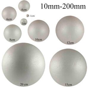 Solid-Polystyrene-Balls-Craft-Floral-Cake-Sweet-Tree-20mm-400mm-Huge-UK-Stock