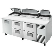 True Tpp At 93d 4 Hc 93 Pizza Prep Table Refrigerated Counter