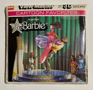 NEW-SEALED-View-Master-SUPERSTAR-BARBIE-J70-3-Reel-Set
