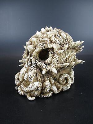 Totenkopf Tintenfisch Skull,13 Cm Poly Figur Modell Neu