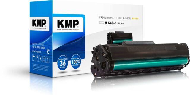 KMP Toner H-T14 für HP Q2612A LaserJet 1010 1012 1015 1018 1020 etc. black
