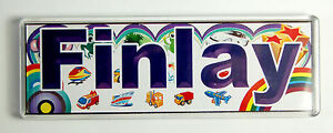 Personalised-from-F-to-I-Door-Room-Name-Plaque-Tile-Magnet-Frame