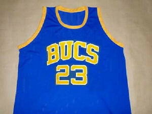 timeless design 28d45 09d2b MICHAEL JORDAN LANEY HIGH SCHOOL BASKETBALL JERSEY BUCS SEWN ...