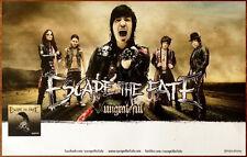 Escape The Fate Ungrateful Ltd Ed Rare Discontinued Poster +Free Metal Poster!