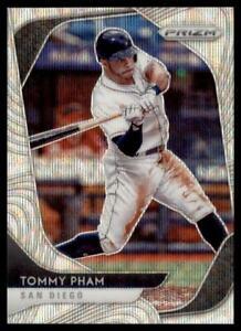 2020 Prizm Blue Wave Prizm #29 Tommy Pham /60 - San Diego Padres