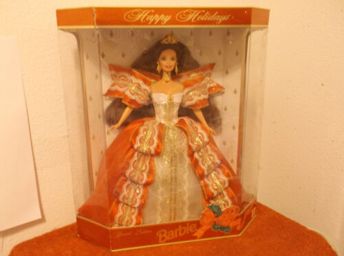 "VINTAGE /""BARBIE..HAPPY HOLIDAYS/""....1997....NEW IN BOX"