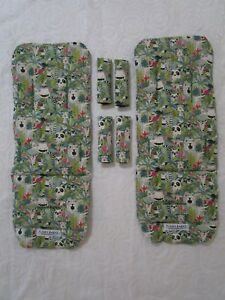 Mountain-buggy-duet-pram-liners-set-Jungle-animals-Includes-2-liners