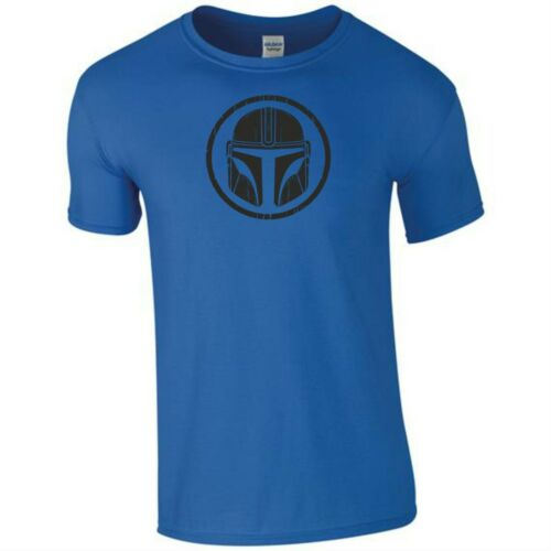 The Mandalorian Helmet T Shirt Star Wars Gym Exercise Birthday Gift Men Tee Top