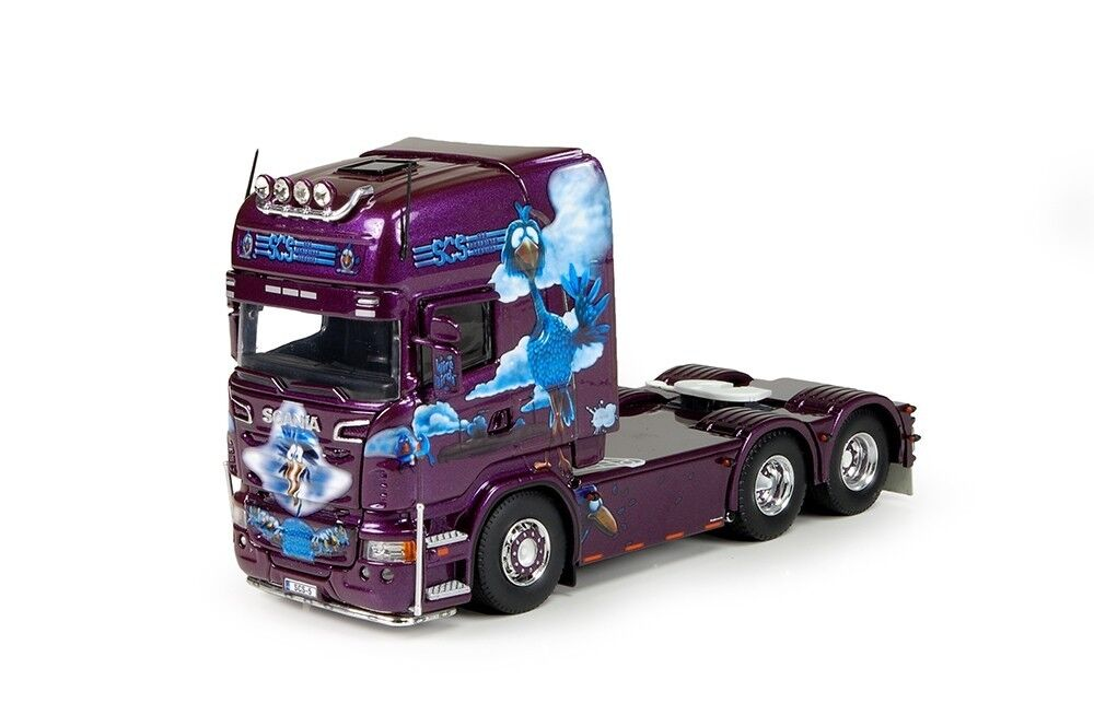 Techno 70800 scania r6 topline tracteur solo 6x4 scs finnland neuf en boite