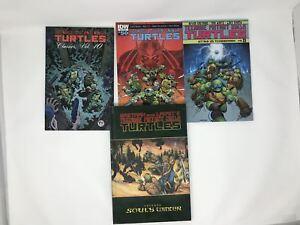 Lot-of-4-TMNT-Teenage-Mutant-Ninja-Turtles-TPB-Eastman-Soul-039-s-Winter