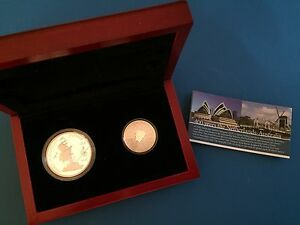 2006-Duyfken-Dual-Silver-Set-Five-Dollar-Silver-And-Five-Euro-Proof-Coins