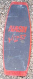 Vintage Retro Nash Wizard Wood Wakeboard Local Pickup No Shipping Ebay