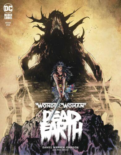 DC COMICS BLACK LABEL 2019 WONDER WOMAN DEAD EARTH #1 CVR A NM JOHNSON JLA