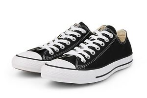 Details about Converse Classic Chuck Taylor All Star M9166 Black Shoes Sneaker Low Men Women