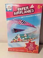 Kids Create Paper Airplanes Create 10 Awesome Planes Paper Craft Kit 4x6