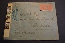 lettre BRESIL censurée 1915