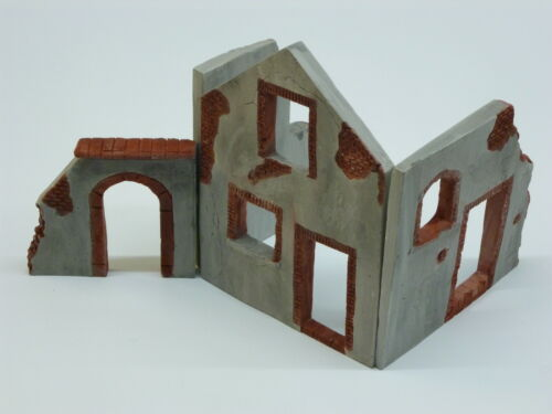 Bauernhofruine Hausruine Ruine 1:35 fertig bemalt
