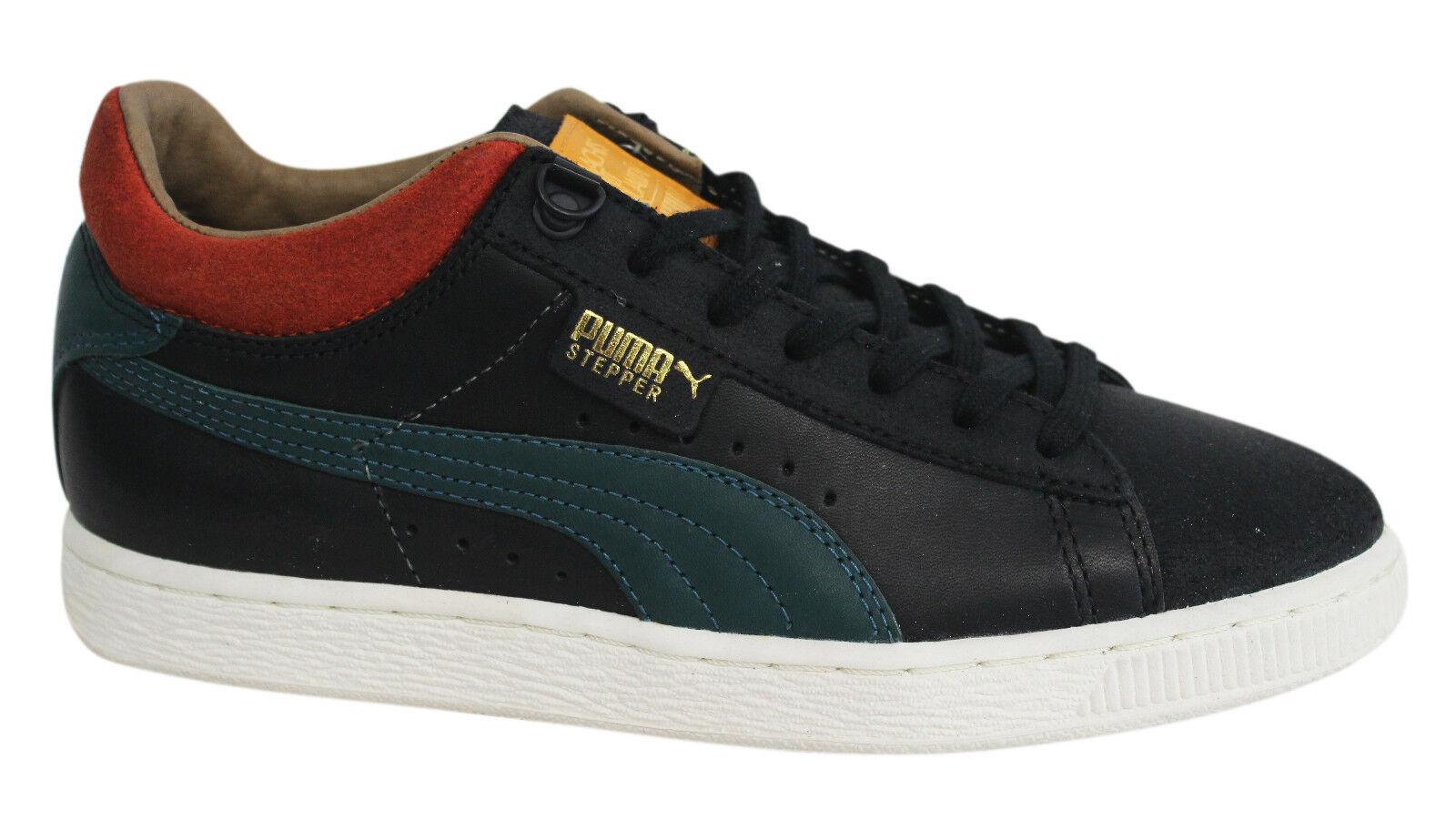 Puma Cesto MMQ Negro Con Cordones Cuero Textil Zapatillas Hombre 355550 01 U107 The latest discount shoes for men and women
