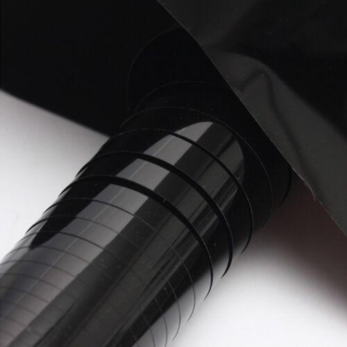 I2PLY 50cmx 300cm Window Film Tinting Roll Kit 15/% VLT Black UV-Proof Scratch