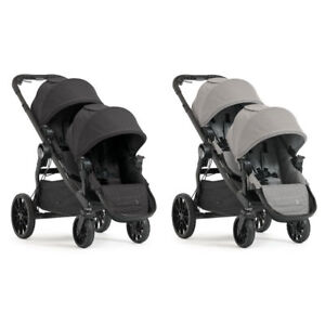 Baby-Jogger-2017-City-Select-LUX-Double-Stroller-Pram-with-2nd-Seat-NEW