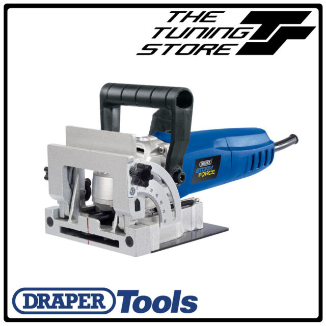 Draper Tools 900W Biscuit Joiner Jointer Wood Work Saw Cutter in Case BNIB