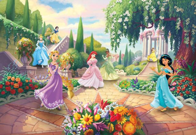 Disney wallpaper mural for girl's