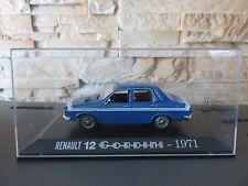 VOITURE MINIATURE NOREV  RENAULT 12 GORDINI DE 1971  1 /43  ETAT NEUF