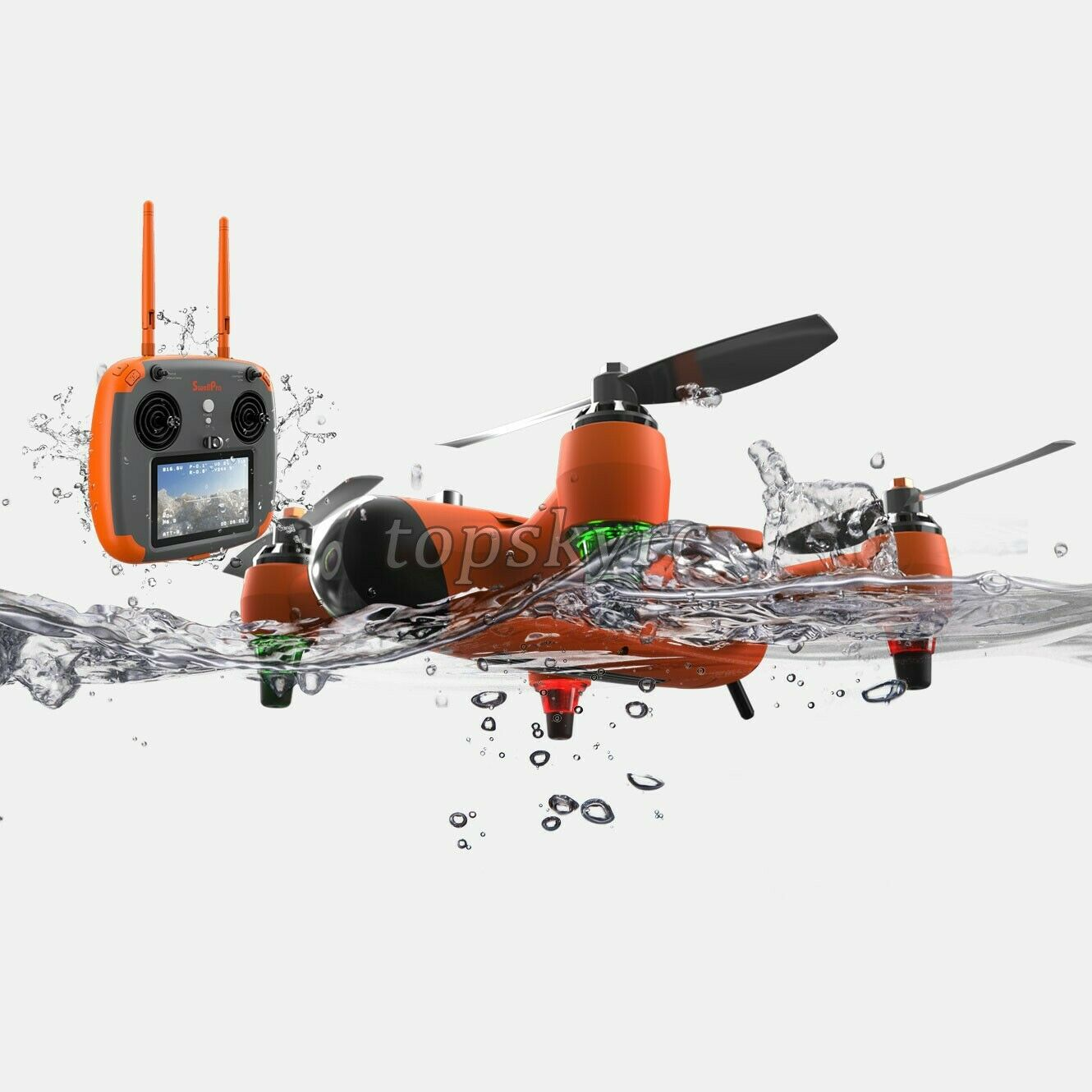 Waterproof  Drone Quadcopter Drone with Waterproof Remote Controller autory Case  best-seller