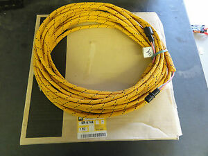 caterpillar 5r 6744 wiring harness ebay rh ebay com caterpillar to detroit wiring harness caterpillar radio wiring harness