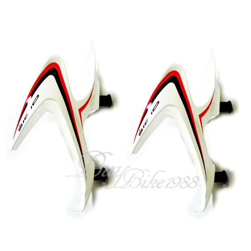 2pcs WHITE    IDIO UD Carbon Water Bottle Cage BIKE MTB ROAD  CYCLING