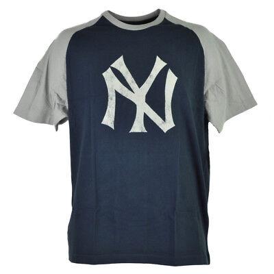 Mutig Mlb New York Yankees Mens Adult Fallschirmjäger T-shirt Kurzärmelig Marineblau Weitere Ballsportarten Fanartikel