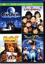 CASPER / THE LITTLE RASCALS / NANNY MCPHEE / HARRY & THE HENDERSONS DVD R1