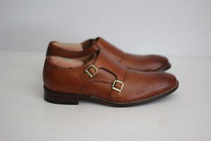 factory price diversified in packaging most reliable Details about Cole Haan Benton Double Monk Strap II - British Tan - 8 M -  C26425 (B10)