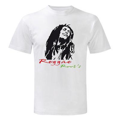 T-Shirt Originale Bob Marley Ufficiale Maglia Maglietta Volto Jamaica Reggae