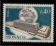 MONACO #771 MNH VF OG Universal Postal Union UPU Headquarters 0,40F 1970