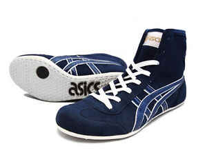 ASICS Wrestling Boxing Shoes EX-EO TWR900 Navy Made in Japan - NEW ...