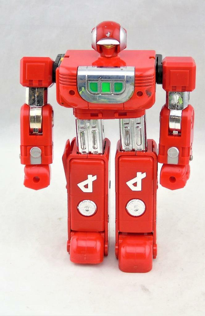 Vintage 1984 Voltron II Rojo Robot Figura Gladiador Guerrero