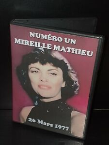 Numéro Un Mireille Mathieu - 26.03.1977 (Claude François, Johnny Hallyday ...)