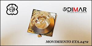 Movement ETA 2472- Ø. Sphere 26.5X26.5mm